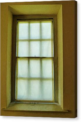 The Mustard Window Canvas Print by Steve Taylor