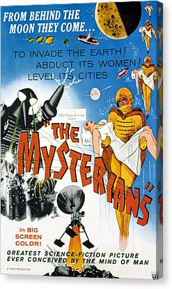 The Mysterians, 1959 Canvas Print by Everett