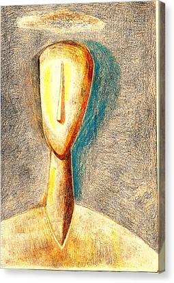 The Nameless And Faceless Canvas Print by Al Goldfarb
