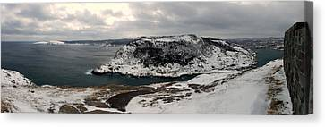 The Narrows - St. John's Harbour Canvas Print by Max Buchheit Photography