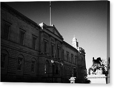 The National Archives Of Scotland General Register House Edinburgh Scotland Uk United Kingdom Canvas Print by Joe Fox