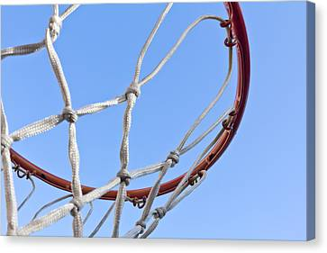 The Net And No Game Canvas Print by Nicholas Evans