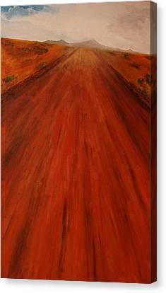 The Never-ending Highway Canvas Print by Robert Handler