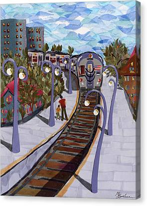 The Next Stop Is... Canvas Print by Marina Gershman