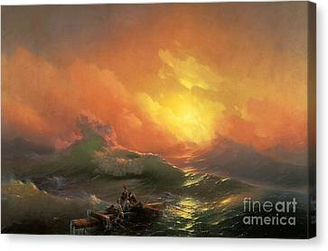 The Ninth Wave Canvas Print by Aivazovsky
