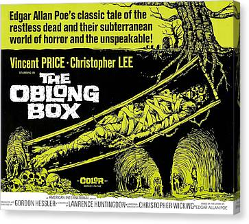 The Oblong Box, 1969 Canvas Print by Everett