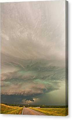 The Odell Beast Canvas Print by Chris Allington