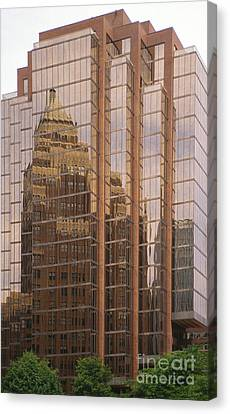 The Old And The New Canvas Print by Sandra Bronstein