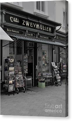 The Old Bookstore Canvas Print