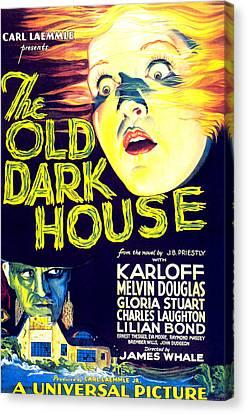 The Old Dark House, Gloria Stuart, 1932 Canvas Print by Everett