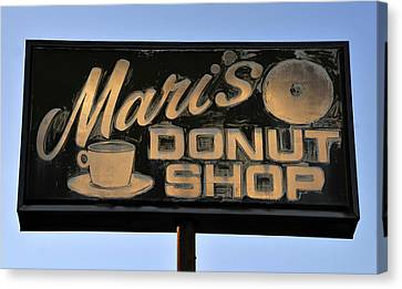 The Old Donut Shop Canvas Print by David Lee Thompson