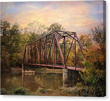 The Old Iron Bridge Canvas Print by Jai Johnson