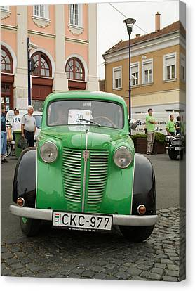 The Old Opel Canvas Print by Odon Czintos