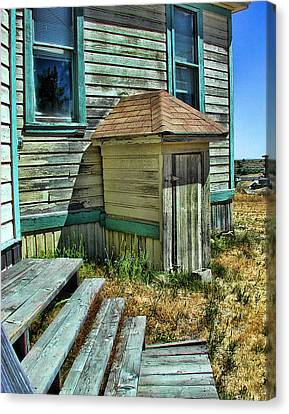The Old Schoolhouse Canvas Print by Bonnie Bruno