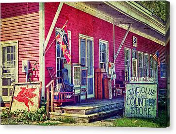 The Olde Country Store Canvas Print by Kathy Jennings