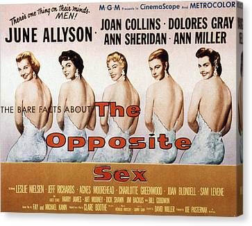 The Opposite Sex, June Allyson, Joan Canvas Print by Everett