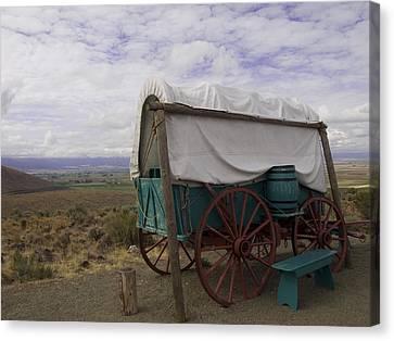 The Oregon Trail No 3 Canvas Print