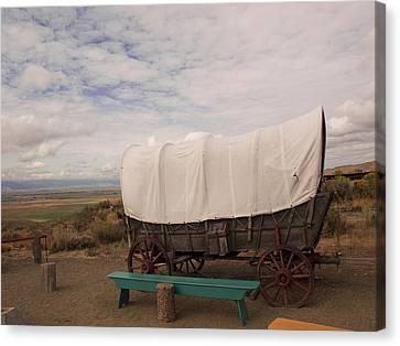 The Oregon Trail No 5 Canvas Print
