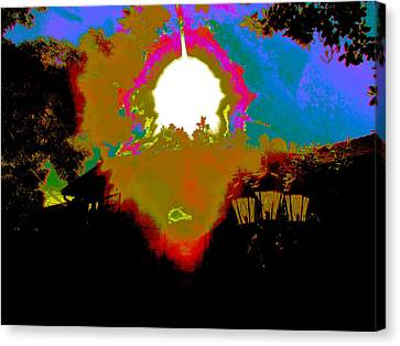 The Other Side Canvas Print by HollyWood Creation By linda zanini