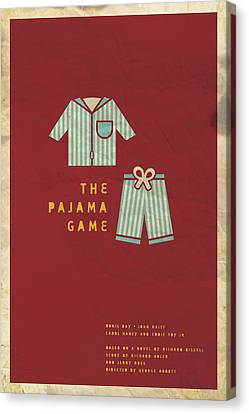 The Pajama Game Canvas Print by Megan Romo