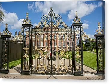 The Palace Gates Canvas Print by Donald Davis