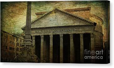 The Pantheon's Curse Canvas Print by Lee Dos Santos