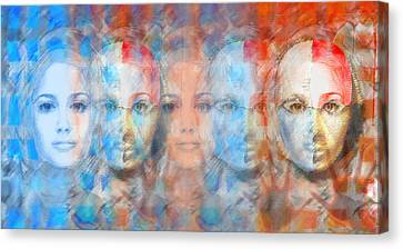 The Passage Fragment Canvas Print by Andrea Ribeiro