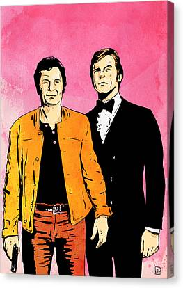The Persuaders Canvas Print by Giuseppe Cristiano