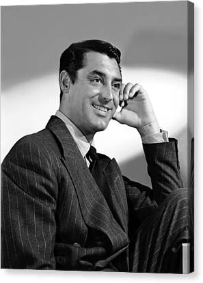 The Philadelphia Story, Cary Grant, 1940 Canvas Print by Everett