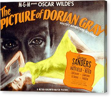 The Picture Of Dorian Gray, 1945 Canvas Print by Everett