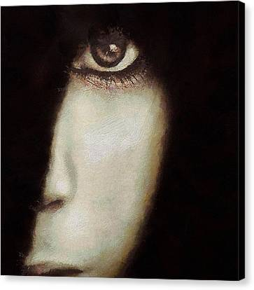 The Piece Of Me I Choose To Show Canvas Print by Gun Legler