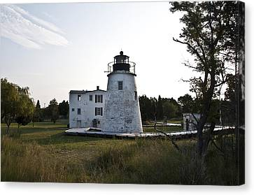 The Piney Point Lighthouse Canvas Print