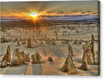 The Pinnacles Canvas Print