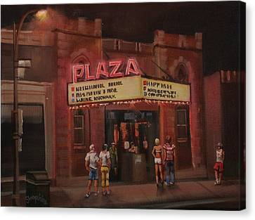 The Plaza Canvas Print by Tom Shropshire