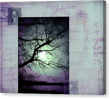 The Postcard IIi Canvas Print by Ann Powell