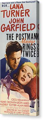 The Postman Always Rings Twice, John Canvas Print by Everett