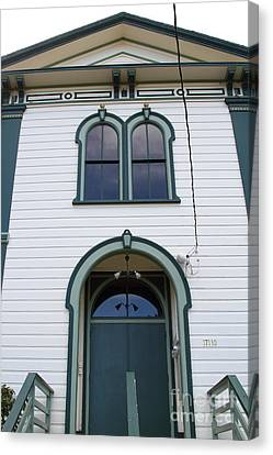 The Potter School House . Bodega Bay . Town Of Bodega . California . 7d12480 Canvas Print by Wingsdomain Art and Photography