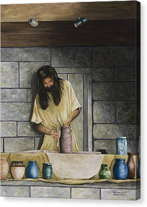 The Potter's House Canvas Print by Mary Ann King