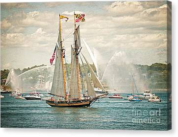 The Pride Of Baltimore Canvas Print