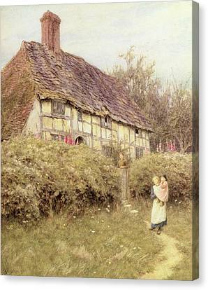 The Priest's House West Hoathly Canvas Print