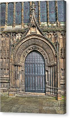 The Priory Church Of St Mary's Bridlington Canvas Print by David  Hollingworth