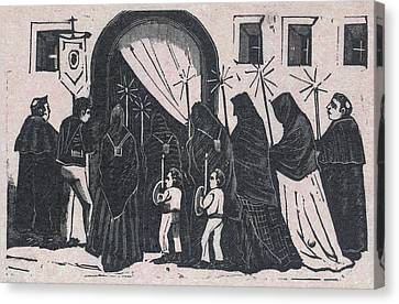The Procession, By Antonio Vanegas Canvas Print by Everett