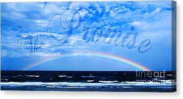 The Promise Canvas Print by Linda Mesibov