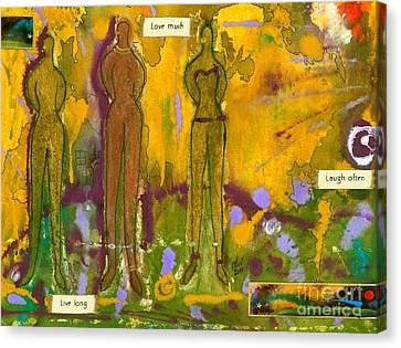 The Purpose Seekers Canvas Print by Angela L Walker