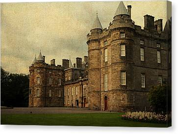 The Queen's Gallery. Edinburgh. Scotland Canvas Print by Jenny Rainbow