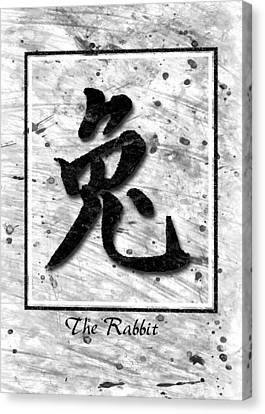 The Rabbit  Canvas Print by Mauro Celotti
