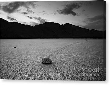 The Racetrack Canvas Print by Keith Kapple