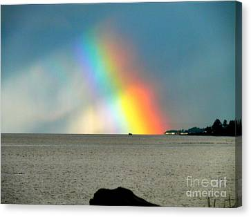 The Rainbow's Edge Canvas Print