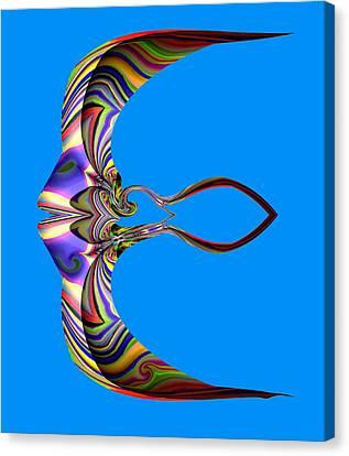 The Rare Mirror Fish Canvas Print by Visual Artist  Frank Bonilla