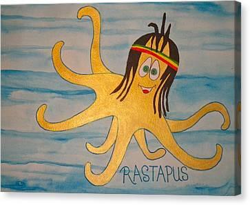 The Rastapus Canvas Print by Erika Swartzkopf